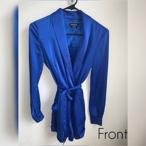 Bebé Navy Blue jumpsuit